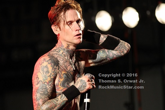 Buckcherry 2016 Josh Todd