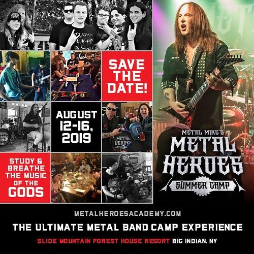 Metal Mike Metal camp