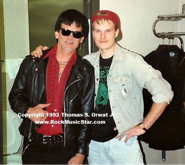 Dee Dee Ramone 1992 and me RMS (2) Interview xxxxxx